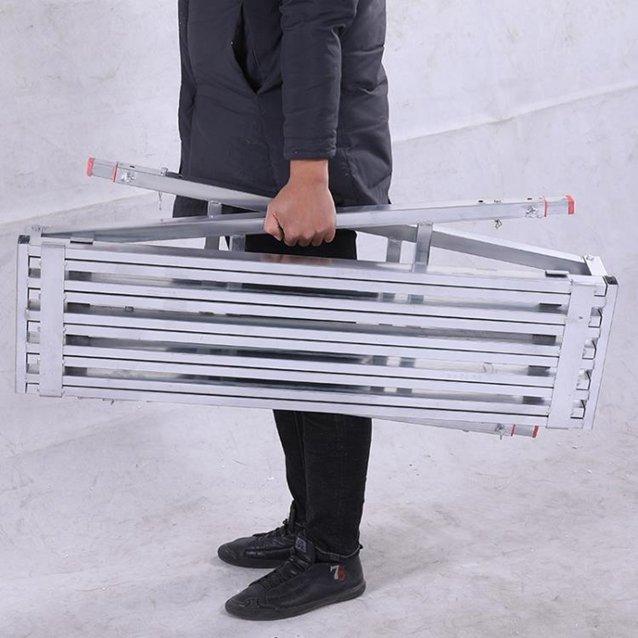 銳德利伸縮馬凳折疊升降加厚腳手架裝修室內多功能腳手架工程梯子 秋冬新品特惠