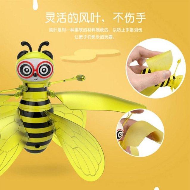 手感應懸浮飛行器小蜜蜂抖音同款網紅兒童玩具智能遙控無人飛機場 秋冬新品特惠