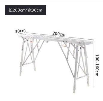 馬登腳手架廠家直銷多功能工程升降加厚折疊梯子裝修架子馬凳 秋冬新品特惠