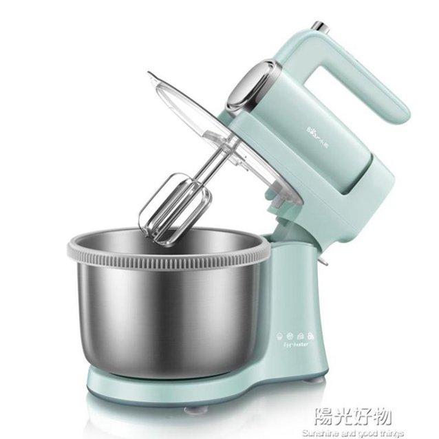 廚師機小熊臺式電動家用奶油機打發小型攪拌機和面鮮奶蓋機 220V NMS 秋冬新品特惠