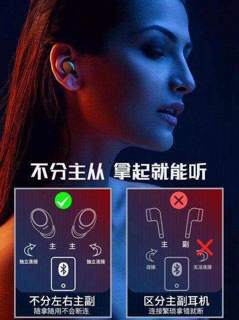 藍芽耳機索愛A1 真無線藍芽耳機雙耳運動跑步無線小型迷你隱形超長待機續航 秋冬新品特惠