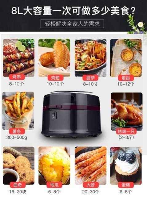 空氣炸鍋家用智能無油電炸鍋大容量薯條機全自動 秋冬新品特惠