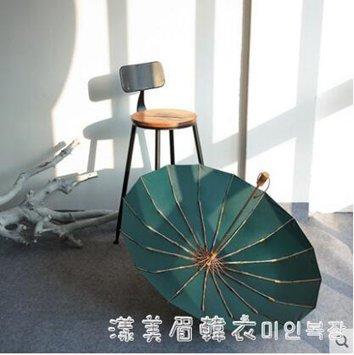 日式摺疊古風晴雨傘兩用男女加固抗風大號雨傘防曬防紫外線太陽傘 秋冬新品特惠