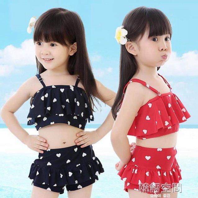 兒童游泳衣女童女孩泳裝嬰兒男童比基尼套裝寶寶分體小中大童泳褲 秋冬新品特惠