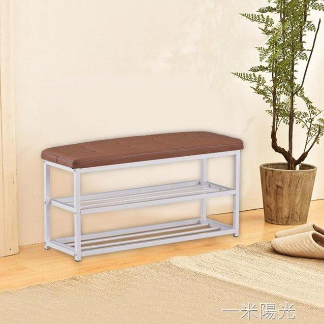 換鞋凳可坐成人家用小凳子多功能長方形試衣間儲物沙發凳收納神器 秋冬新品特惠