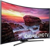 Samsung UN55MU6490FXZA Curved 54.6 LED 4K UHD 6 Series SmartTV (2017 Model)