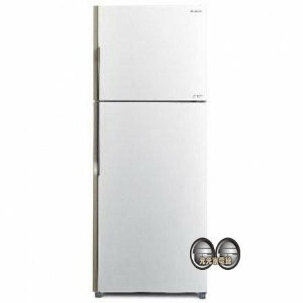 【HITACHI日立】381L雙門電冰箱 RV399(限區含稅含運)