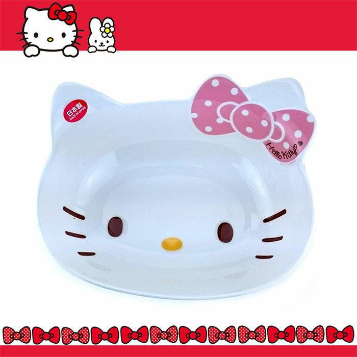 大田倉 日本進口正版 HELLO KITTY40凱蒂貓 美濃燒日本陶瓷 造型碗 大臉 陶瓷碗 633786