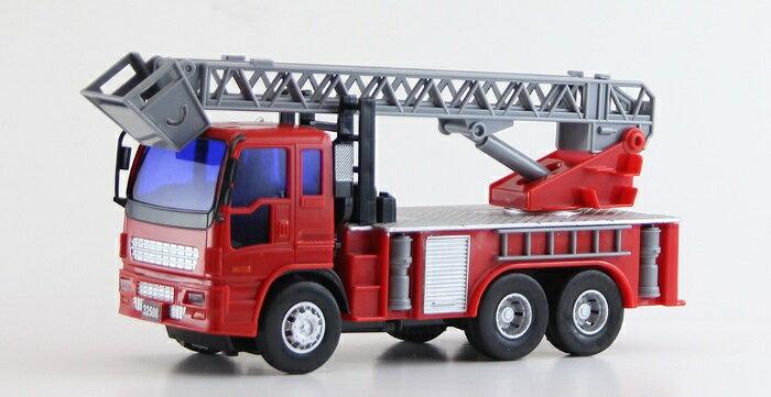 小小家 磨輪小型消防雲梯車 32508 4