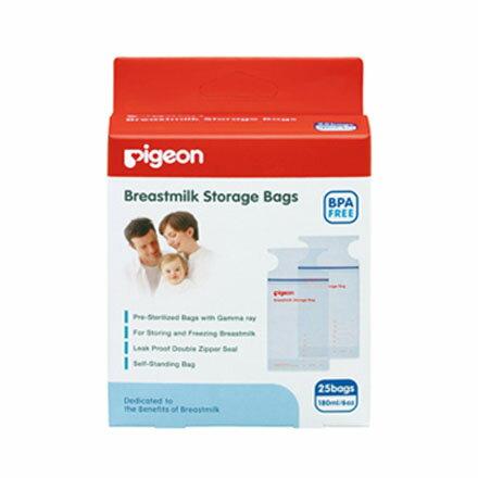 【悅兒樂婦幼用品?】PIGEON 貝親 母乳冷凍袋180ml (25入)