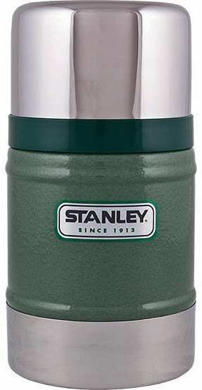 【【蘋果戶外】】Stanley 1000131 美國 百年歷史 真空保溫食物罐 18-8不鏽鋼304保溫罐 悶燒罐 0.5L 保溫食物杯 保溫食物罐 錘紋綠
