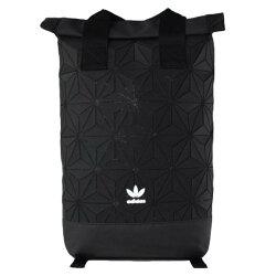 代購+現貨 adidas Urban Backpack 後背包 Black 時尚科技俐落款 立體圖案  DH0100