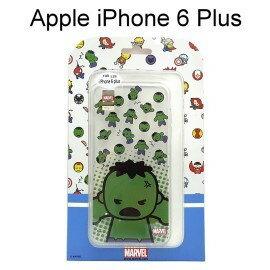 復仇者聯盟Q版透明軟殼 [綠巨人] iPhone 6 Plus / 6S Plus (5.5吋)【正版授權】
