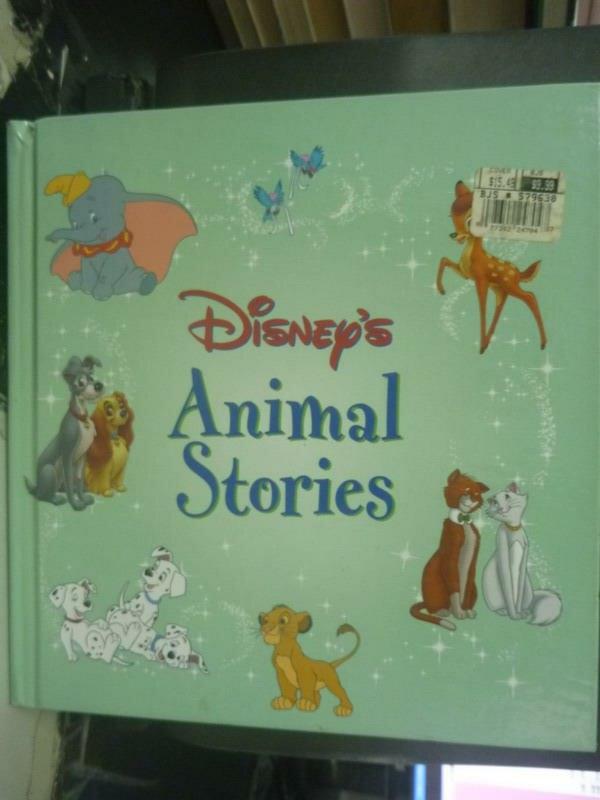 ~書寶 書T3/兒童文學_WFJ~Disnep #x27 s Animal Stories