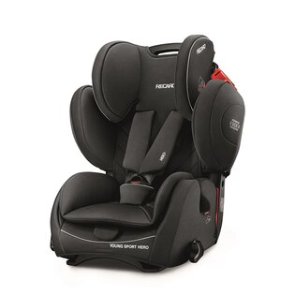 RECARO-YoungSportHero成長型汽車安全座椅(汽座)經典黑