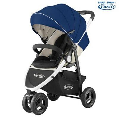 Graco 3W單向豪華型嬰幼兒手推車CITITREK-藍旋風