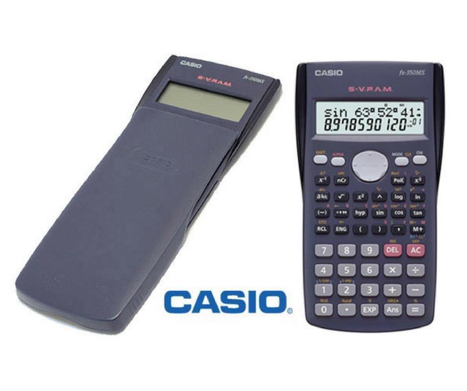 CASIO FX-350MS計算機工程用