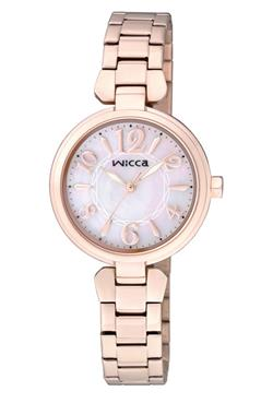 CITIZEN WICCA公主系列白蝶貝面板錶款/BG3-821-11