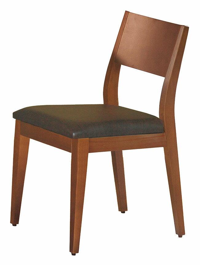 【石川家居】CE-452-16 喬伊柚木色餐椅 咖啡皮 (不含餐桌與其他商品)