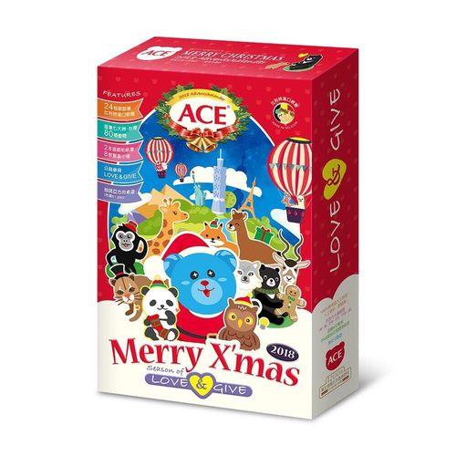 ACE 2018 聖誕巡禮倒數月曆禮盒-動物地圖板 ★衛立兒生活館★