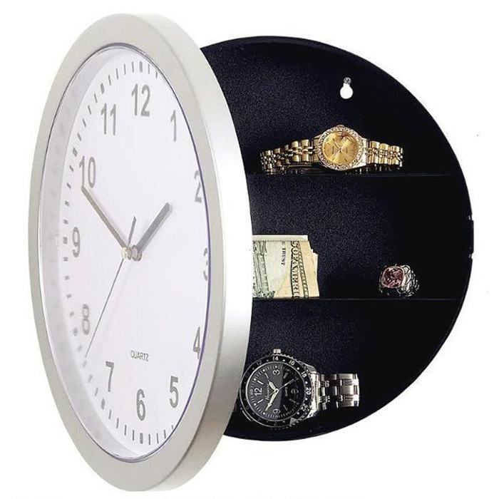clock safe 隱藏式儲物鐘 藏私房錢 隱藏式保險箱 手飾箱 掛鐘 防小偷