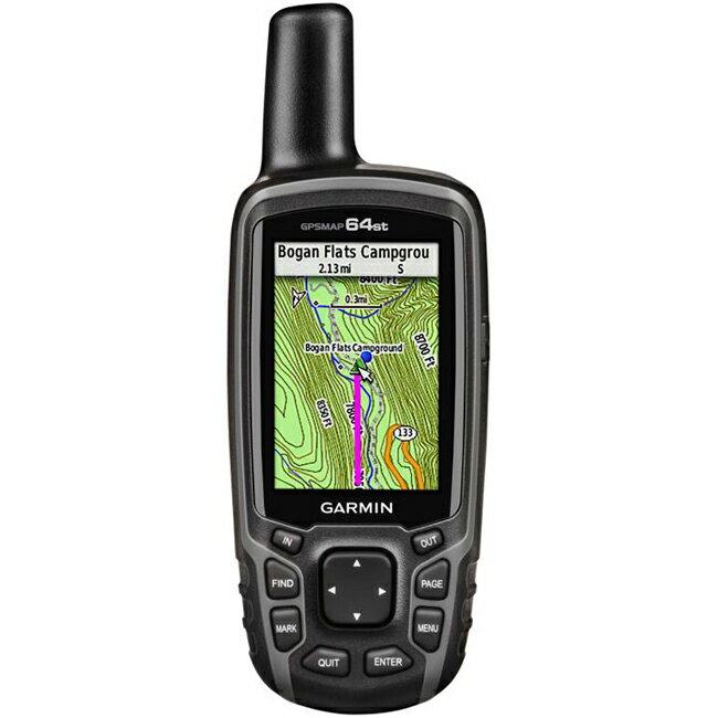 【鄉野情戶外用品店】 GARMIN |美國| GPSMAP 64st 全能進階雙星定位導航儀/防水抗震 衛星導航/010-01199-25