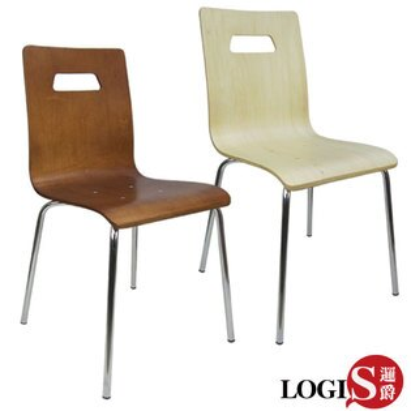 LOGIS邏爵~般若2入曲木餐椅事務椅電腦椅*AE80G*