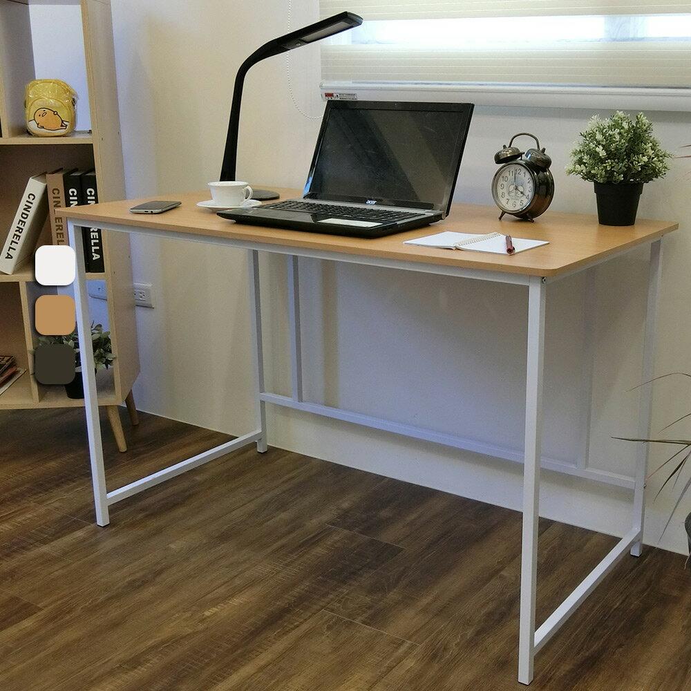 新時代簡約風120公分大平面工作桌 電腦桌 書桌 台灣製 Amos【DCA015】 2