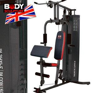 【BODY SCULPTURE】BMG-4300 150磅綜合訓練機.強化訓練.(附護網+二頭肌板).重量訓練.重力.舉重.槓鈴.啞鈴.健身.運動MC016-4300