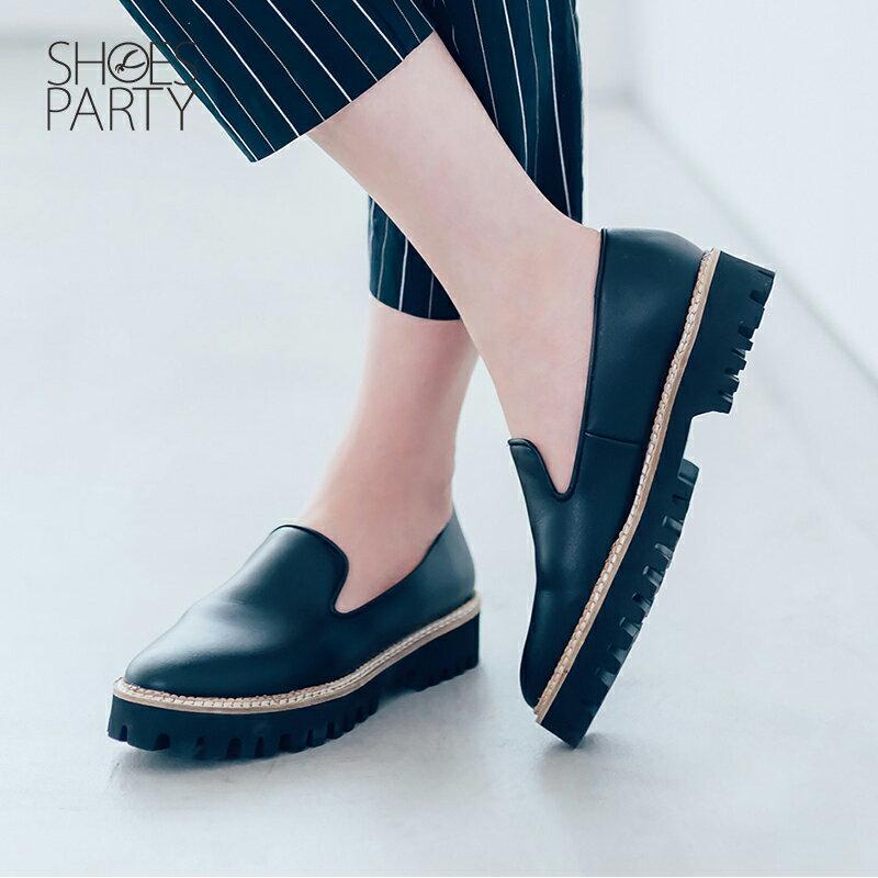 【C2-17907L】真皮個性厚底歐貝拉_Shoes Party 2