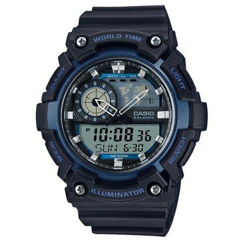 CASIO 世界隨我行強悍有力運動腕錶 / AEQ-200W-2AVDF - 限時優惠好康折扣
