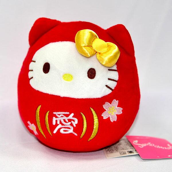 HelloKitty愛櫻花不倒翁玩偶日本帶回正版品