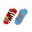 "Angry Birds 2 Pack ""THE BIRDS HAVE IT 1"" Low Rise Kids Socks - Size 9 - 11 Large"