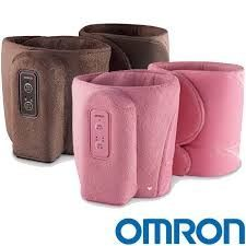 OMRON 歐姆龍 氣動式小腿按摩器 HM-253 粉紅/咖啡 2色可選★愛康介護★