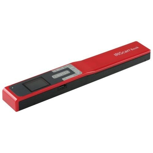 I.R.I.S. IRIScan Book 5 Cordless Handheld Scanner - 1200 dpi Optical - PC Free Scanning - USB