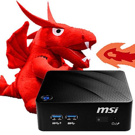 微星 MSI CUBI 8GL-004BTW-BN4000XX 雙核 迷你電腦 N4000/4G/32SSD/W10