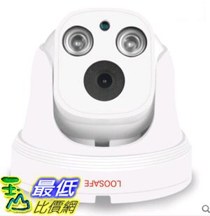 [106玉山最低網] 龍視安poe網路監控攝像頭半球數位高清紅外夜視探頭室內廣角家用 無內存容量 3.6mm 960P