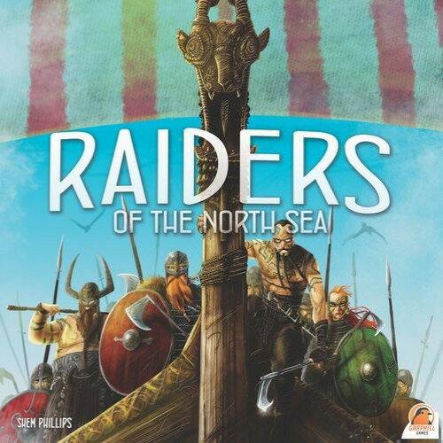 特價 含稅附發票   Raiders of the North Sea  英文版  北海侵略王 北海三部曲第二部 方舟風雲會益智桌遊  實體店正版
