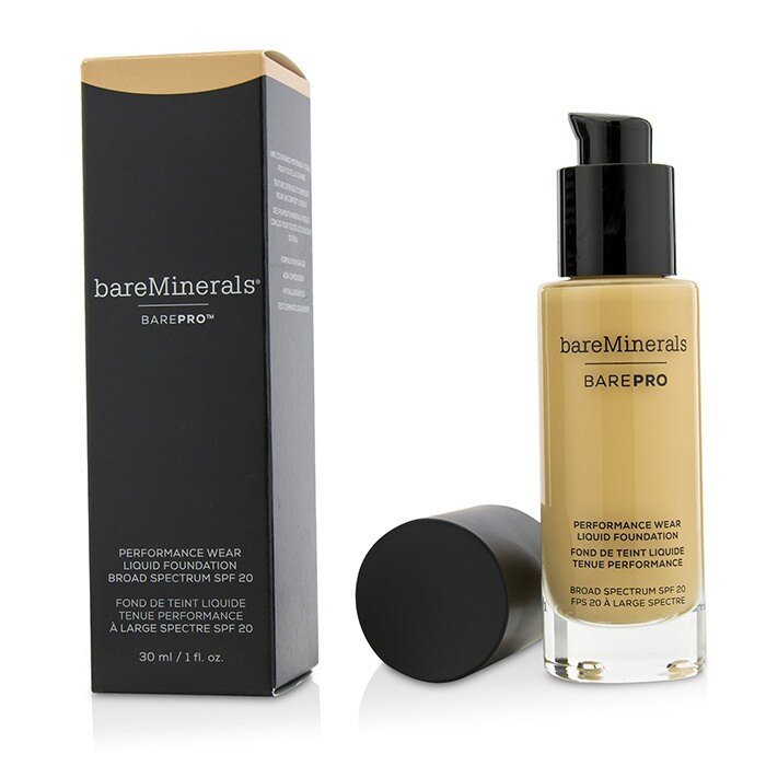 BareMinerals BarePRO 高效無瑕活膚粉底液 SPF20 BarePRO Performance Wear Liquid Foundation - # 11 Natural 30ml/1oz