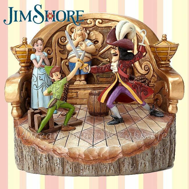 Jim Shore愛木小灣 Disney 仿木雕 彼得潘 ★ 美國ENESCO精品 ★ 夢想家精品家飾 - 限時優惠好康折扣