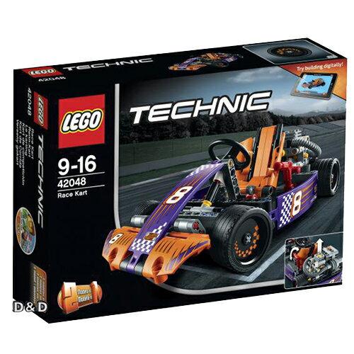 樂高積木LEGO《 LT42048 》2016 年 Technic 科技系列 - 卡丁賽車