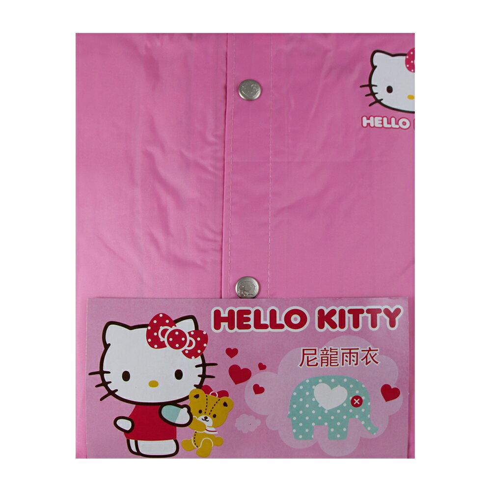 小玩子 Hello Kitty 兒童尼龍雨衣 三麗鷗授權 禮品 禮物 兒童節 生日 PKT656
