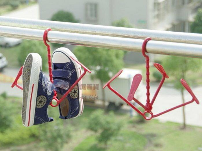 約翰家庭百貨》【BE170】活動式曬鞋架 晒鞋架 隨機出貨