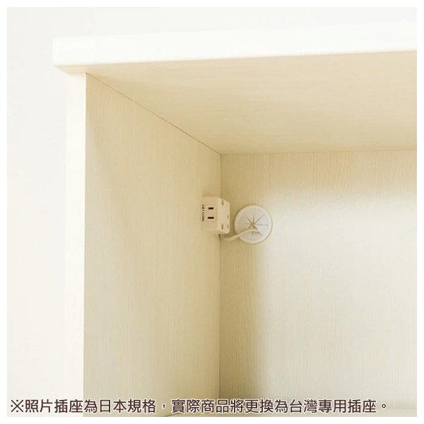 ◎(OUTLET)微波爐櫃 MIRANDA2 80MRB WH 福利品 NITORI宜得利家居 5