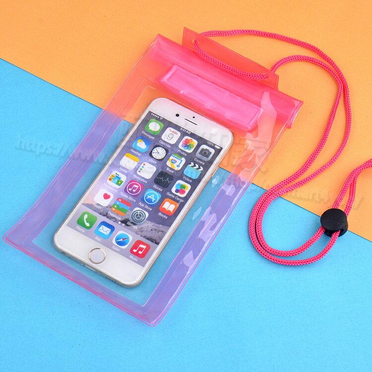 【手機防水袋】4吋~6吋 iPhone 三星 HTC ASUS LG SONY 小米 萬用防水包/三折魔鬼粘/多功能收納袋/玩水必備-ZW