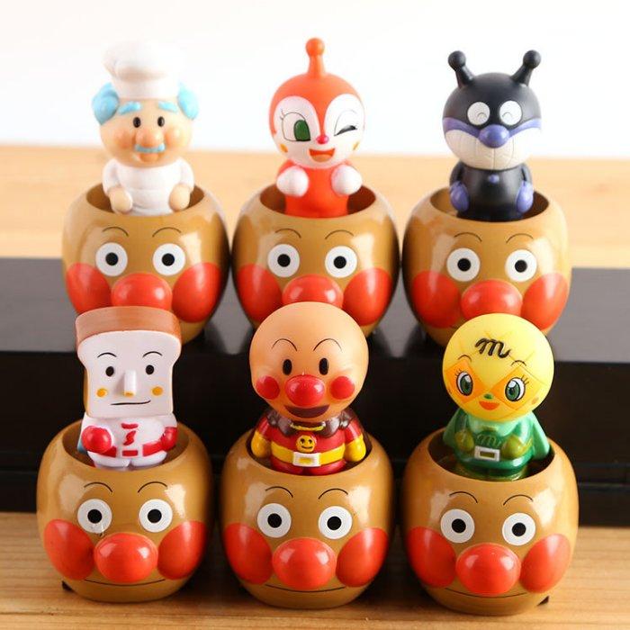 =優生活=日本anpanman麵包超人細菌超人 吐司超人 疊疊樂公仔玩具可?玩偶公仔擺件 兒童玩具