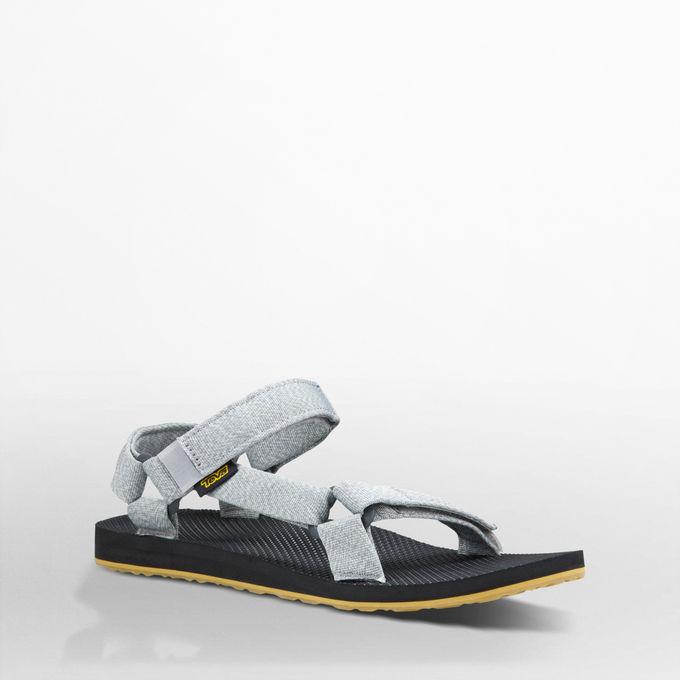 《台南悠活運動家》Teva 美國 男款戶外織帶涼鞋 花紗灰1004006MDGR