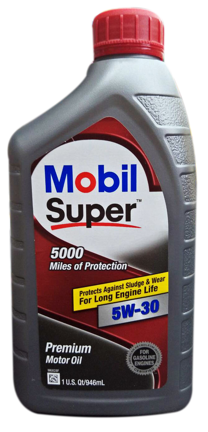 Mobil 1 Super 5000 5W30 合成機油 #7024