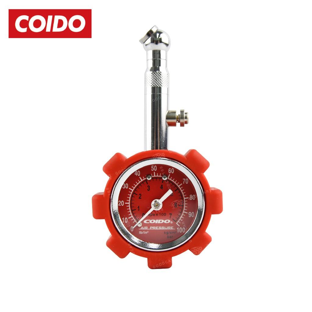 【COIDO】6075 風王胎壓計(競技版)紅-Goodcar168