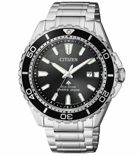清水鐘錶 Citizen 星辰 Eco-Drive 光動能 熱銷黑水鬼運動腕錶 BN0190-82E 43mm